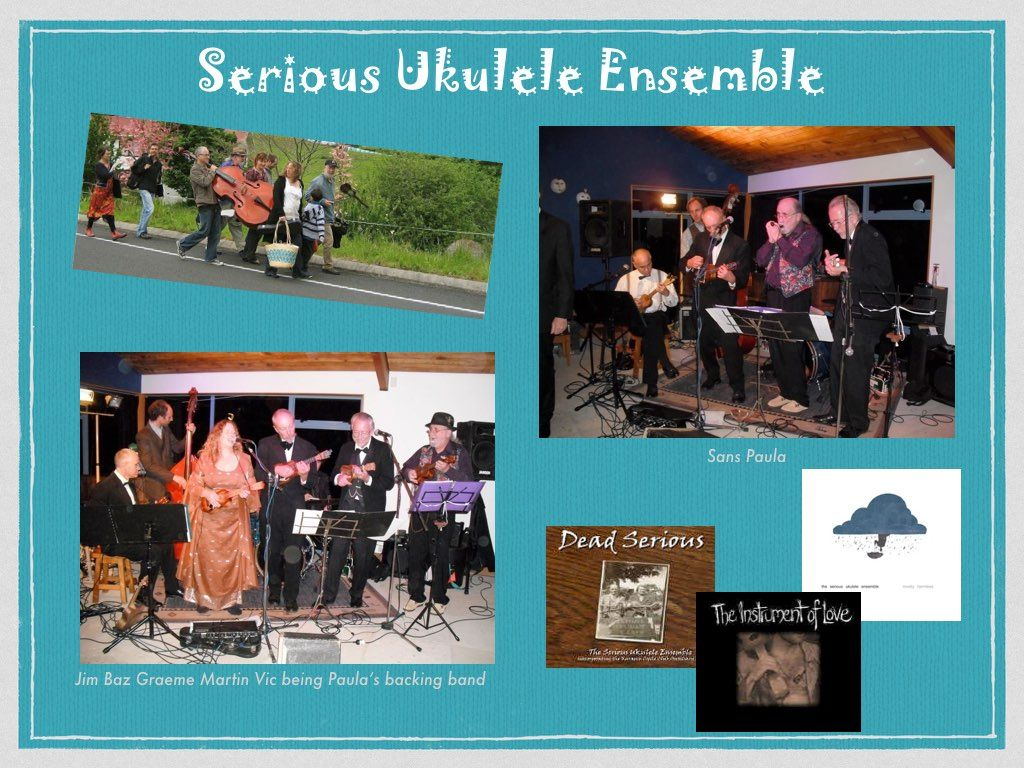 Serious Ukulele Ensemble