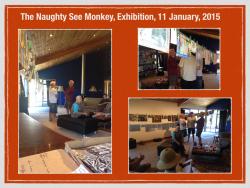 Naughty See Monkey - Art Exhibition